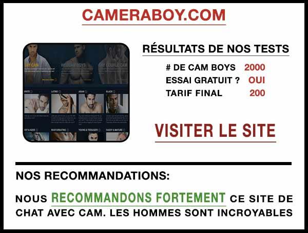 Aperçu du site de cam CameraBoy