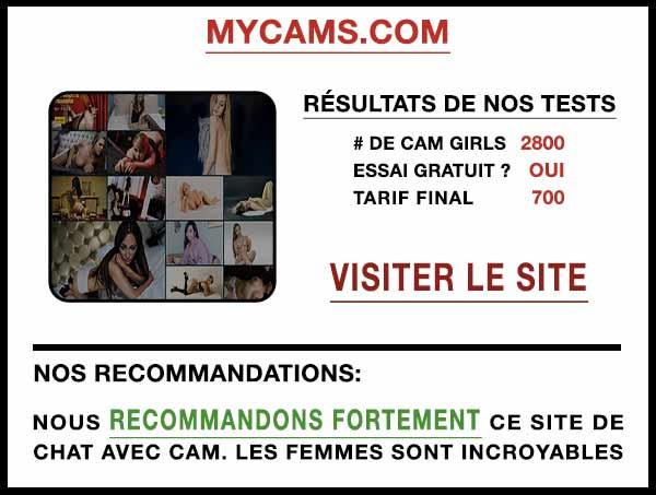 Aperçu du site de cam MyCams